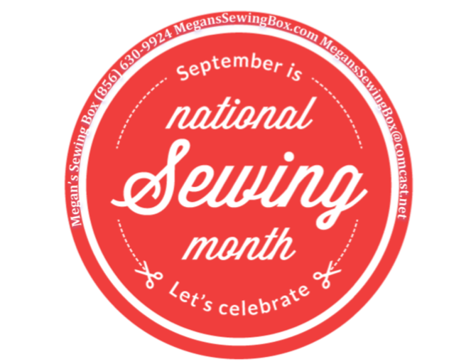National Sewing Month in Megan's Sewing Box